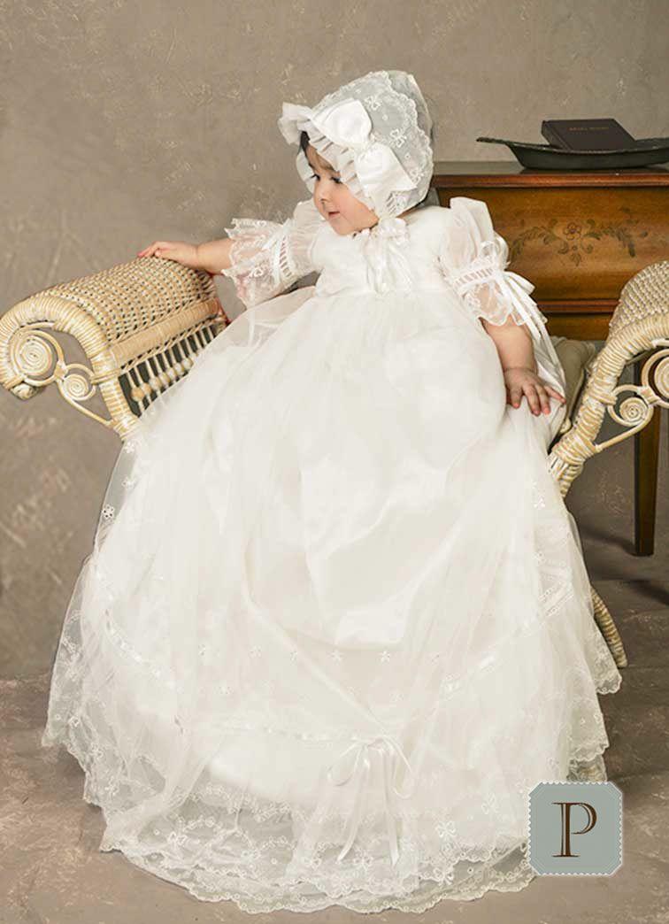 Natalia Christening Gown | Rosemary | Pinterest | Christening gowns ...