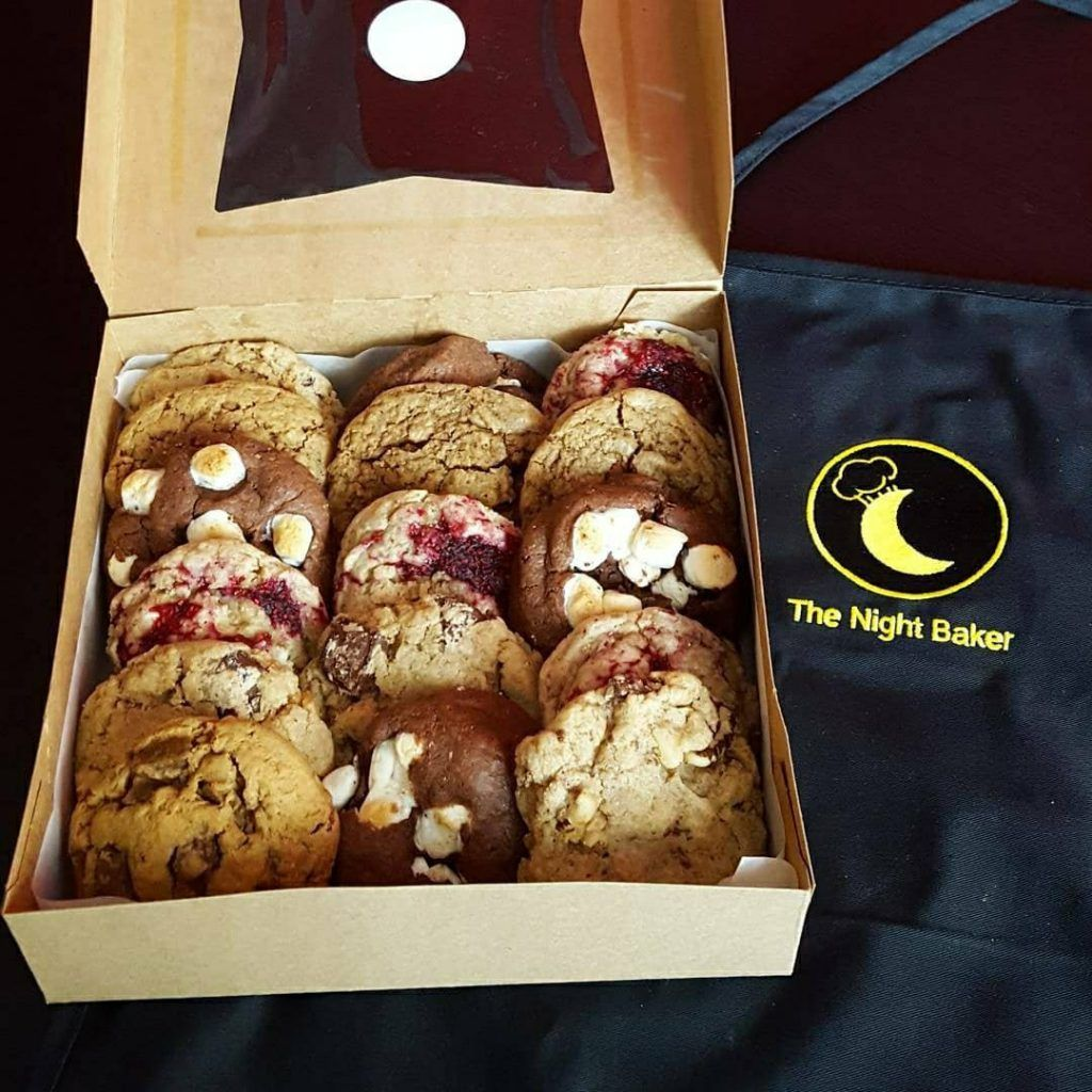 The Night Baker Cookie Delivery Freshly Baked