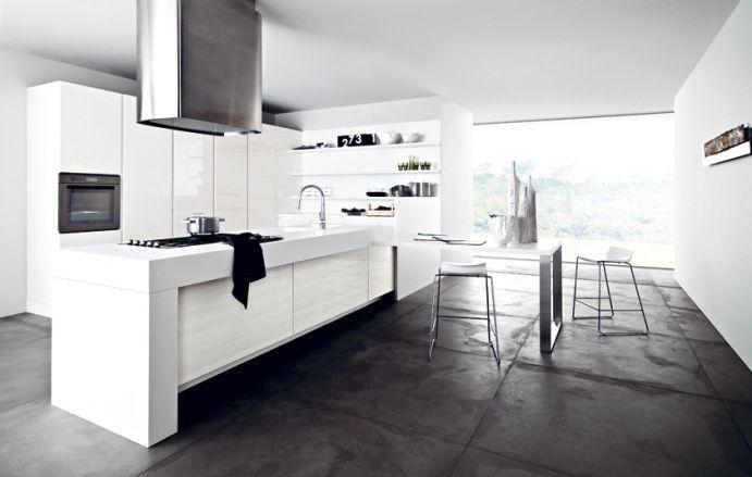 Moderne Küche   Laminat   Kochinsel - FRIDA - CESAR Ideen rund - moderne küchen mit kochinsel
