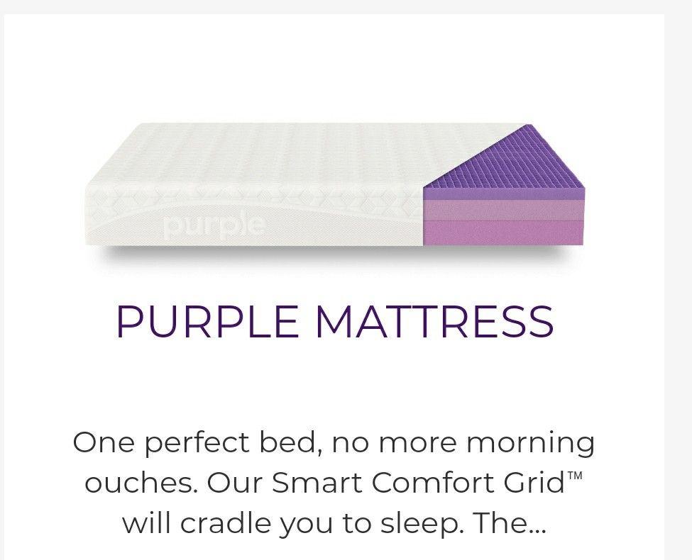 Purple The World S First Comfort Tech Company Backed By Science Purple Mattress Purple Best Mattress