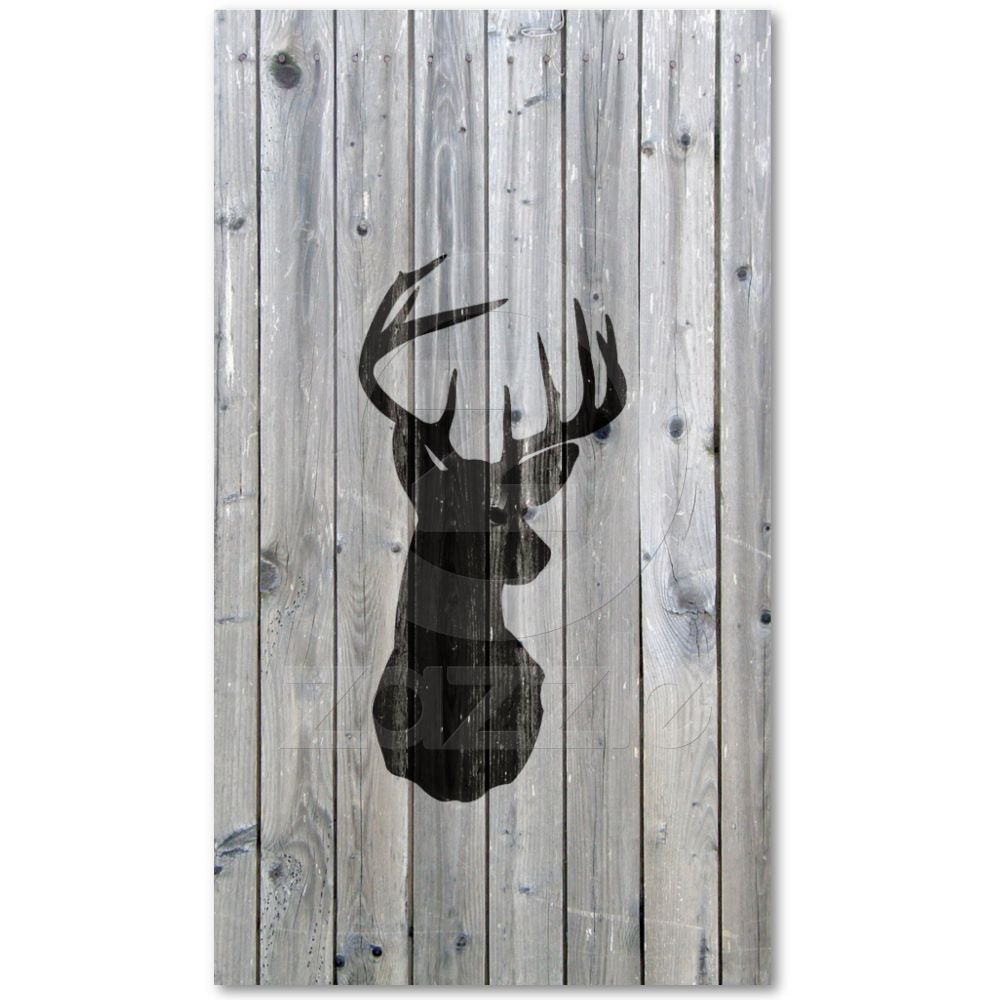 Hipster vintage black deer head on gray wood business cards from hipster vintage black deer head on gray wood business cards from zazzle reheart Image collections