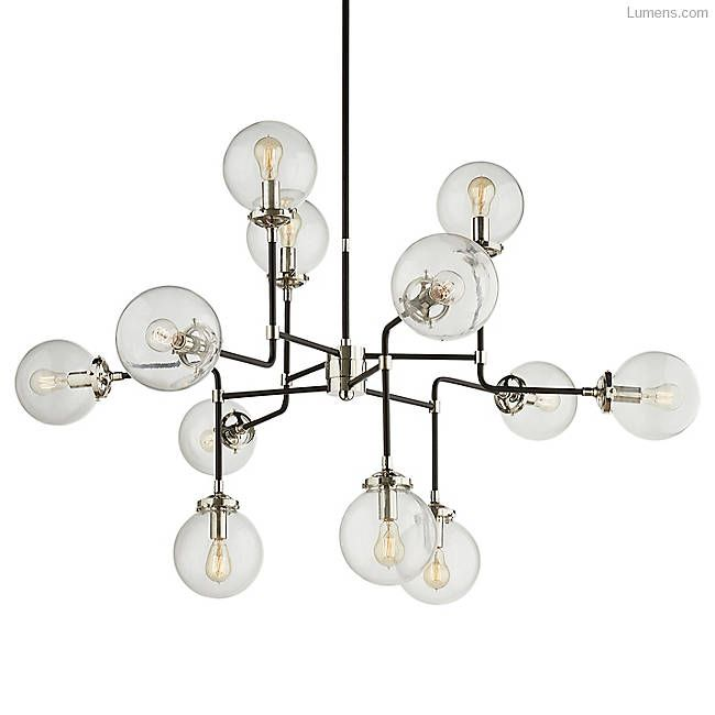 Bistro Medium Chandelier Visual Comfort Contemporary