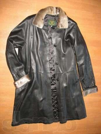 Женское пальто нерпа