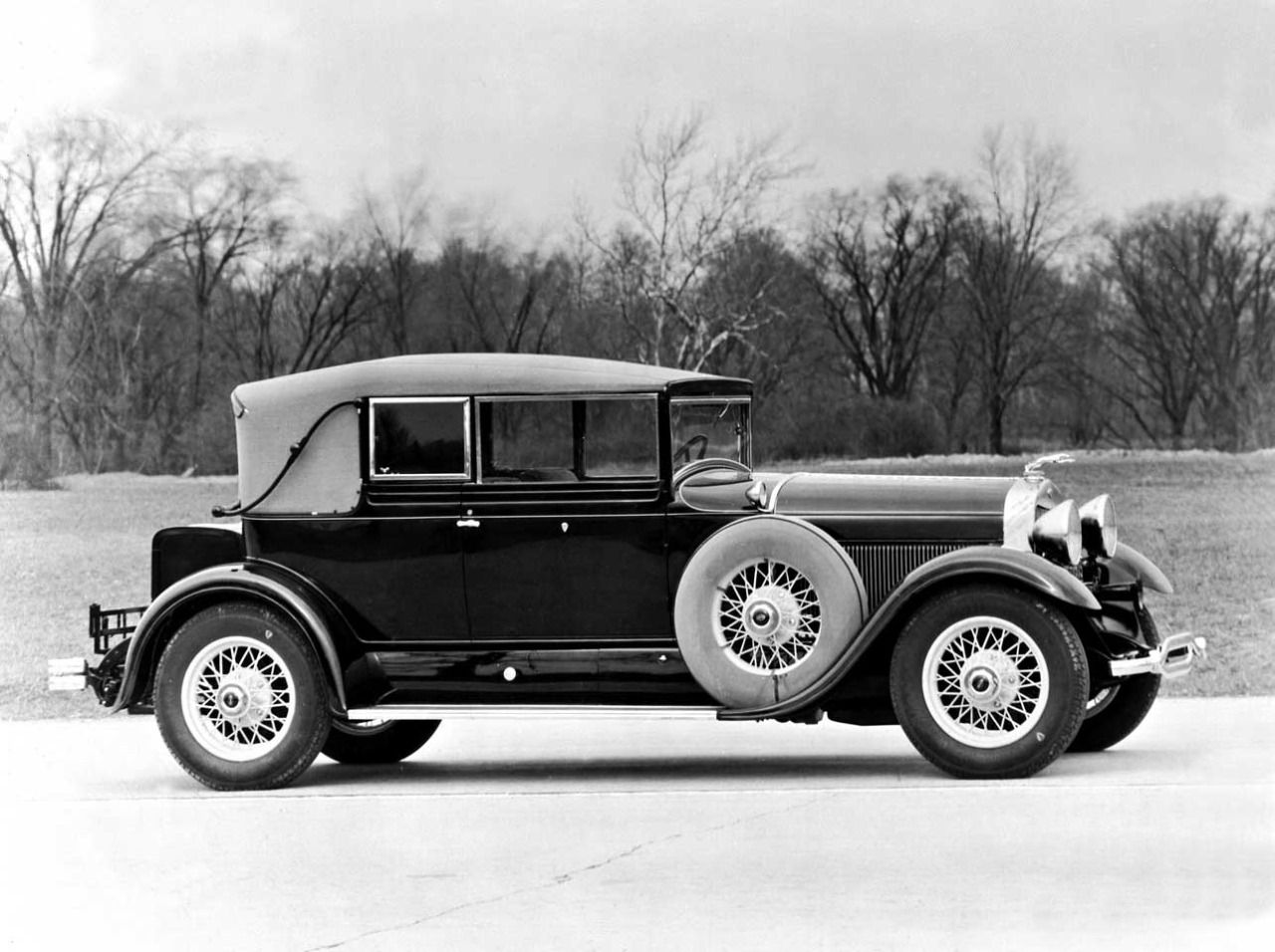 The 1929 Lincoln L Dietrich Convertible Coupe. Only 75 examples of ...