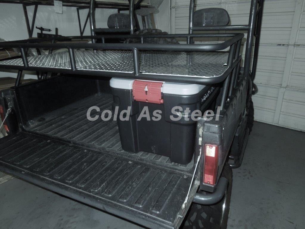 This Polaris Ranger Storage Rack Attaches To Existing Bed