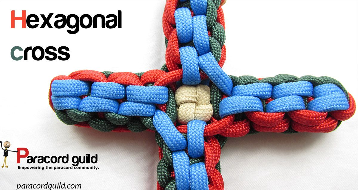 Paracord Cross Tutorial Paracord Projects Pinterest Paracord