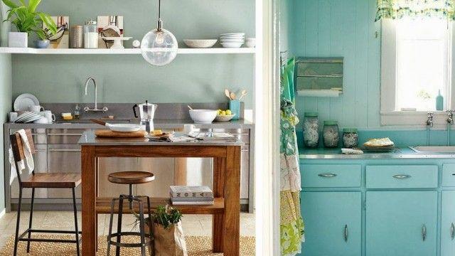 30 idées pour une cuisine à la déco pastel Inspiration - Idee Deco Cuisine Vintage