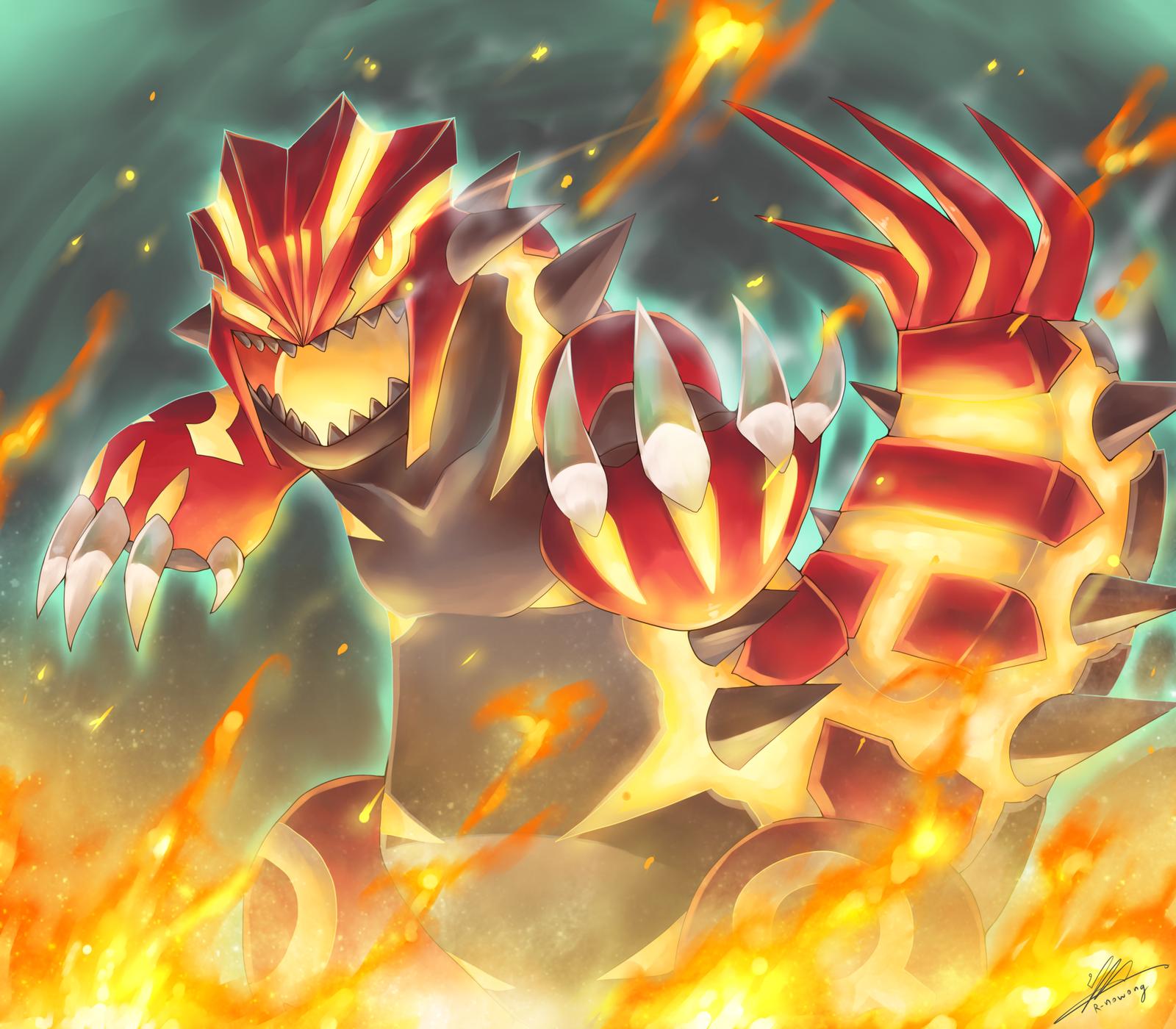 Pokemon : Primal Groudon by R-nowong.deviantart.com on @deviantART ...