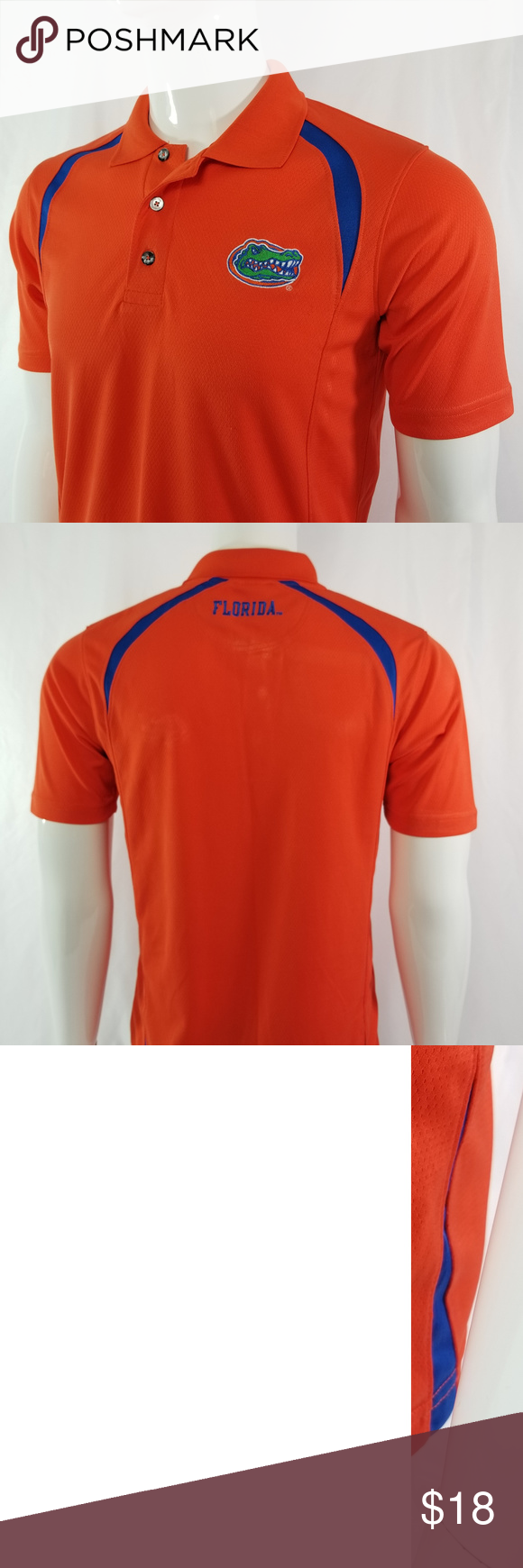 University Of Florida Gators Mens Sm Polo Shirt Polo Shirts