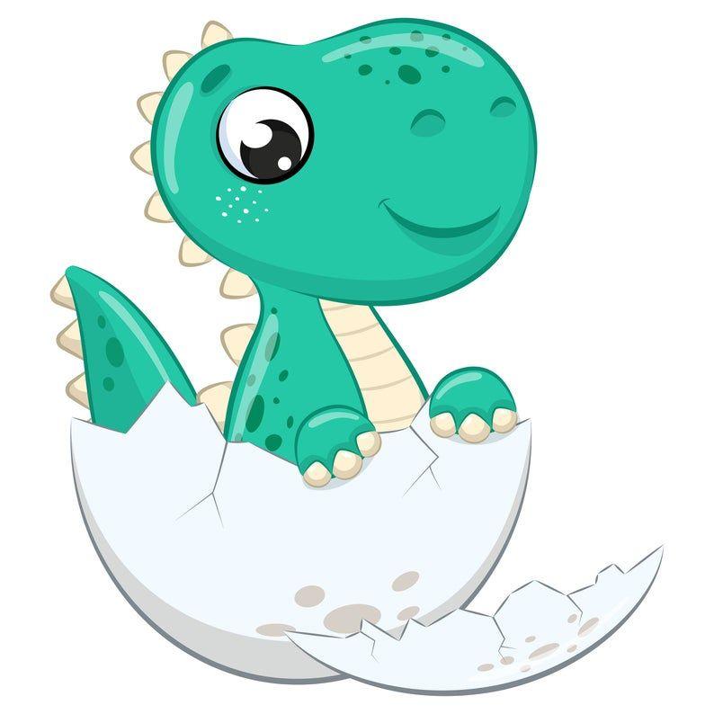 Cute Baby Dinosaur Clipart Png Eps Digital Clip Art Dinosaur Birthday Dino Clipart Dinosaur Nursery Dinosaur Printable First Birthday In 2021 Baby Dinosaurs Baby Animal Drawings Dinosaur