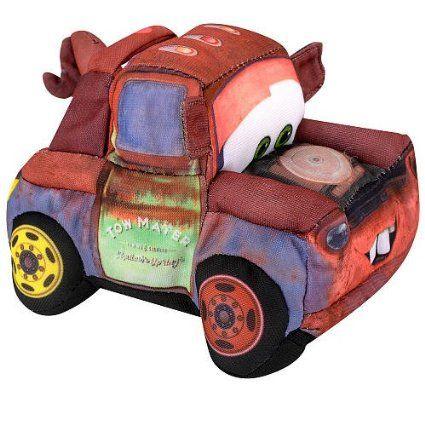 Amazon Com Disney Pixar Cars 2 Movie 5 Inch Talking Plush Crash Ems Mater Toys Games Disney Cars Disney