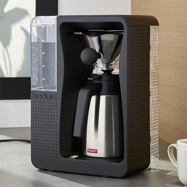 This Groundbreaking Coffeemaker Automates The Popular Pour Over Coffee Brewing Method For A Delicious Fla Pour Over Coffee Maker Coffee Maker Pour Over Coffee