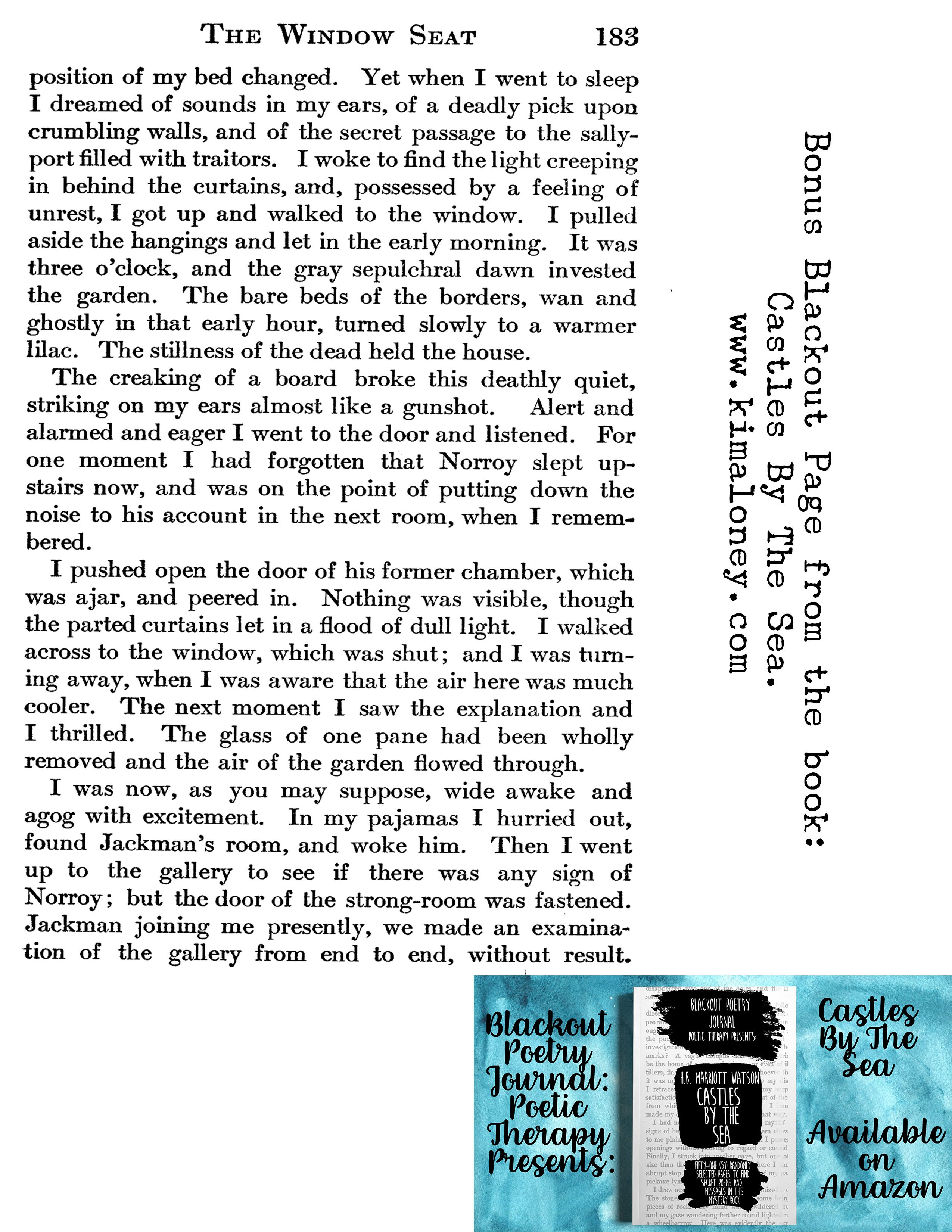 Right Click Image And Open In New Window To Print View To See The Blackout Poetry Journal Blackout Poetry Poetry Journal Poetry