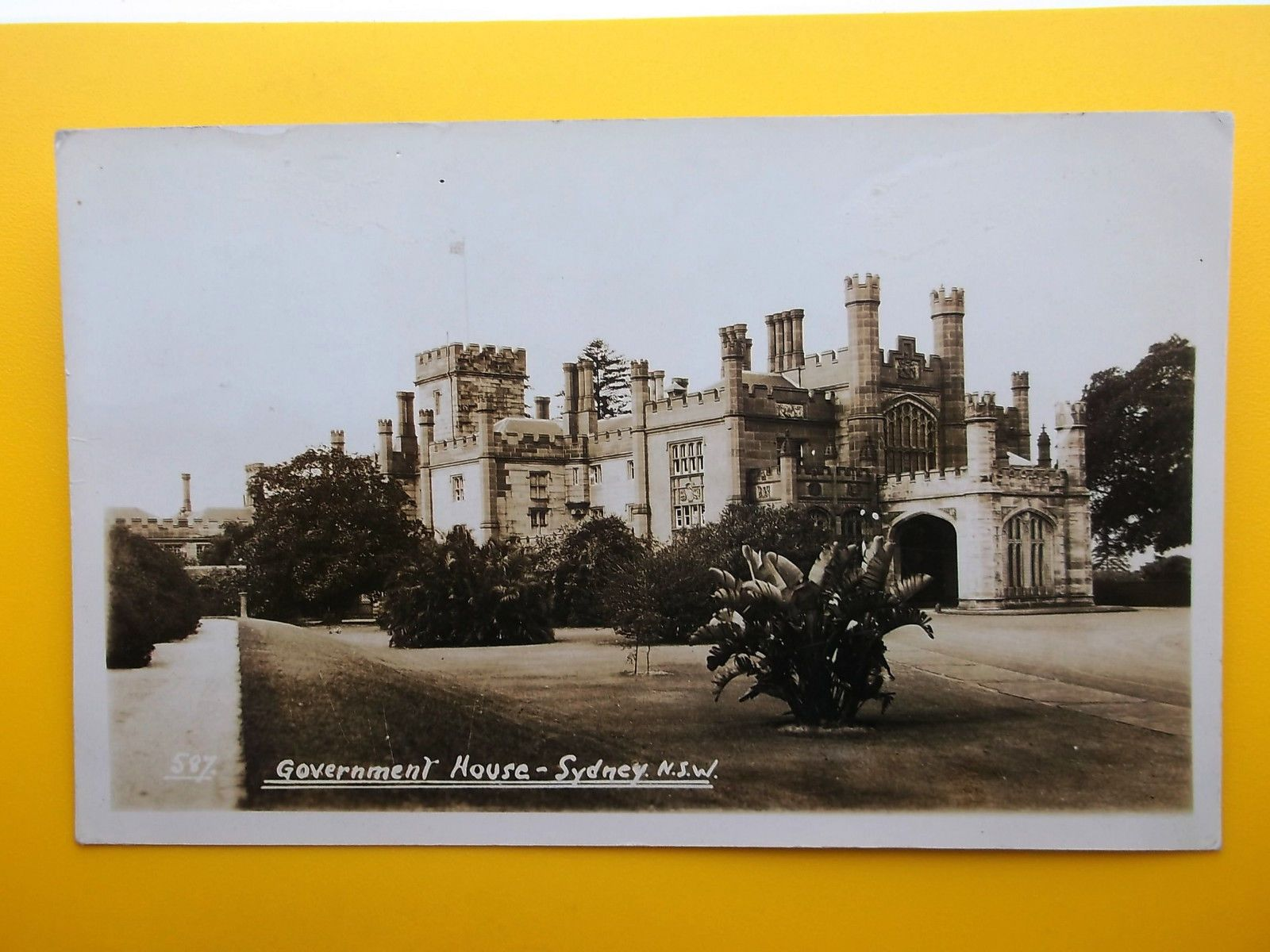 #Government house sydney new south #wales australia #*vintage* rp 1936,  View more on the LINK: http://www.zeppy.io/product/gb/2/381708490894/