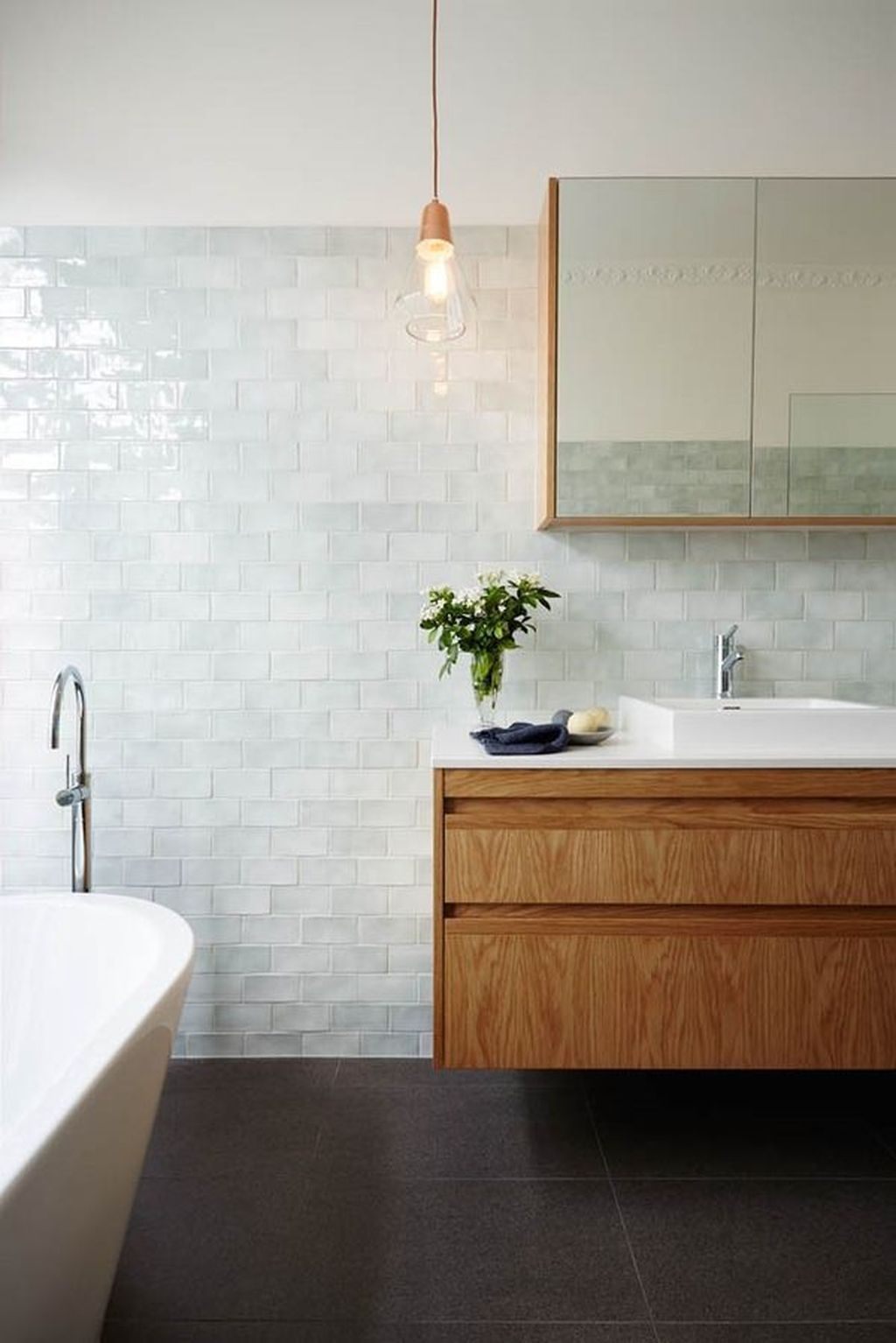 Awesome 30+ Cozy Wood Tile Bathroom Designs Ideas. More At Https://