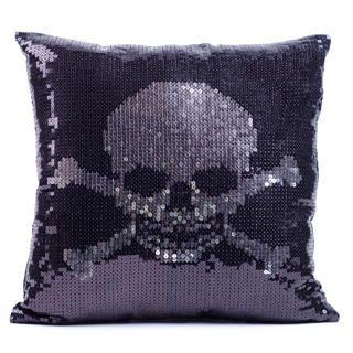 LivingSocial Shop: Skull Throw Pillow by Thro Ltd.