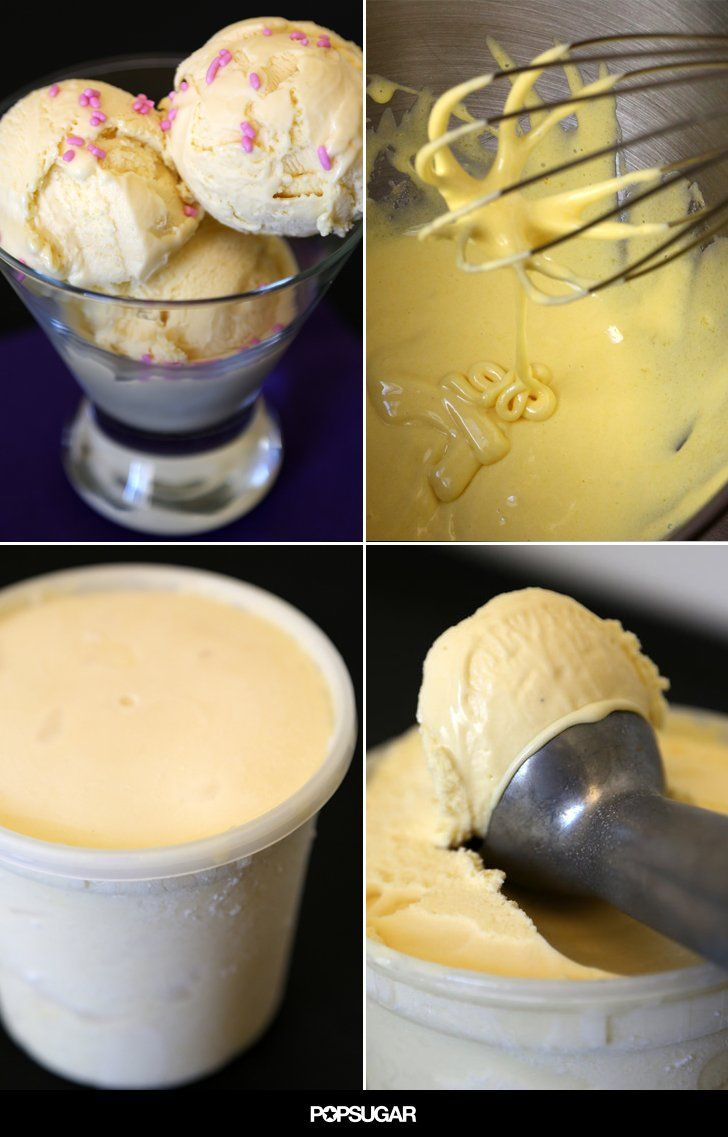 Cake Batter Ice Cream: You Have Permission to Lick the Spoon
