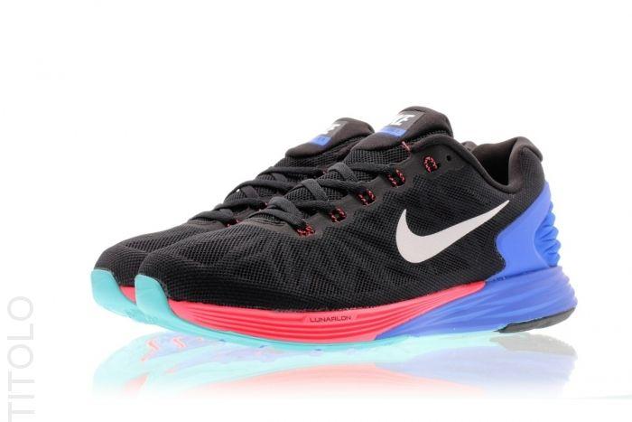 finishline barato real Nike Lunarglide 6 Negro / / Punzón Hiper Nike Roshe Plazo Blanca precio barato profesional tienda de descuento jfA3Z4