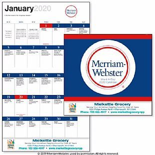 Good Value Word A Day By Merriam Webster Stapled Calendar