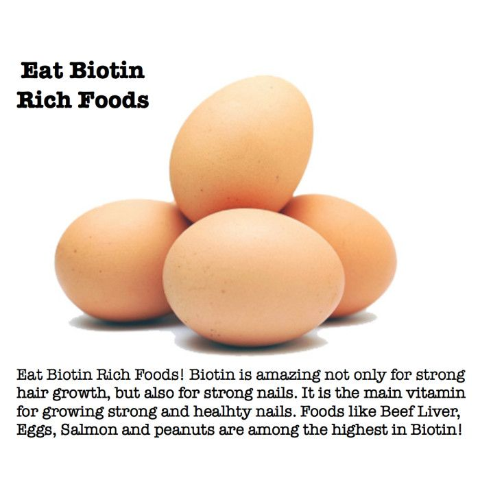 Eat Biotin rich foods to help your nails grow and get stronger ...