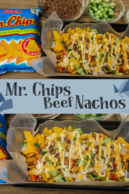 Mr Chips Beef Nachos In 2020 Nachos Recipe Beef Chipped Beef Nachos Recipe