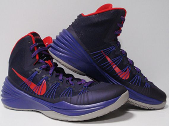 739f31a8488062 Nike Hyperdunk 2013 Purple Red Grey