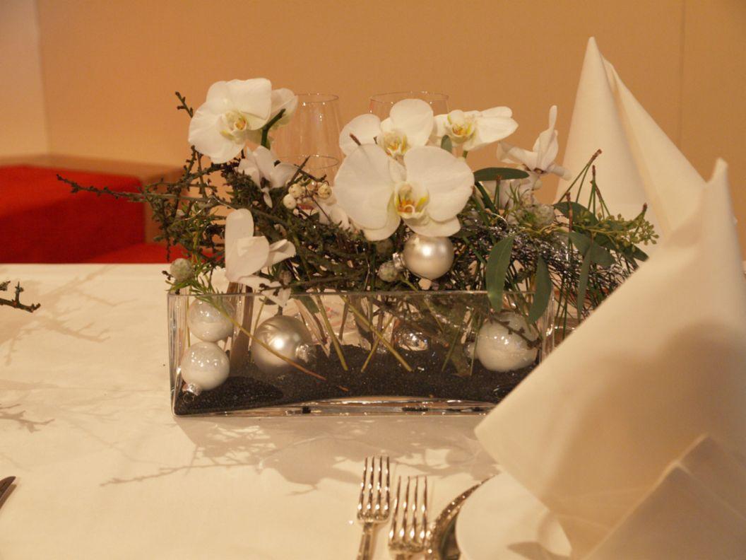 Blumendekoration  Tischdeko  Pinterest