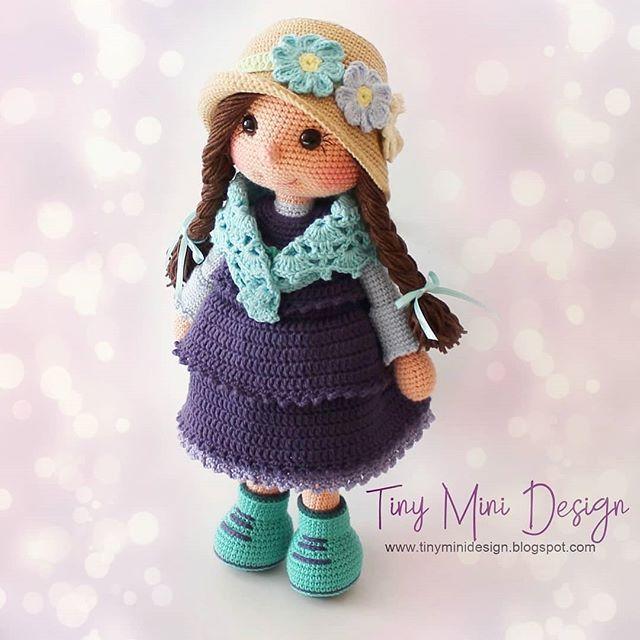 Amigurumi Yamalı Köpek Bruno Türkçe Yapılışı- Amigurumi Dog Bruno Free Pattern - Tiny Mini Design #crochettoysanddolls