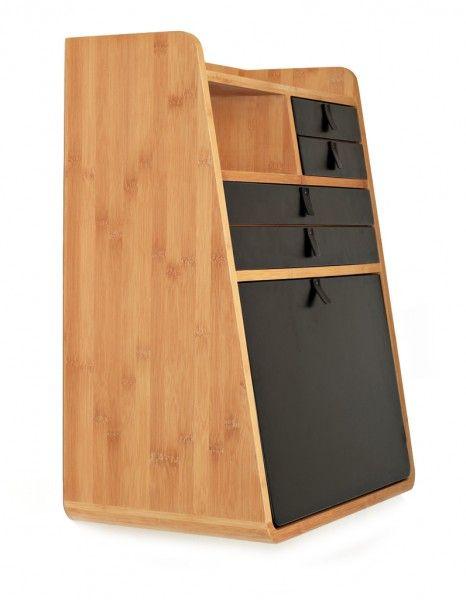 Gain de place  30 meubles astucieux - Elle Décoration Gaston - Conforama Meuble De Cuisine