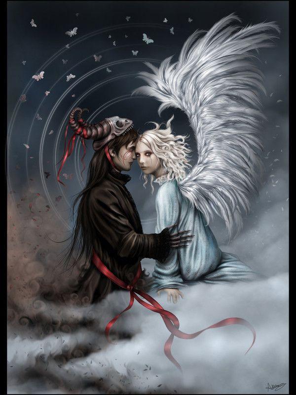 Dessin Ange Et Demon