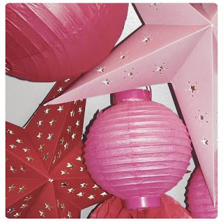 Constellations de lampions - Chez cette fille- #lampion