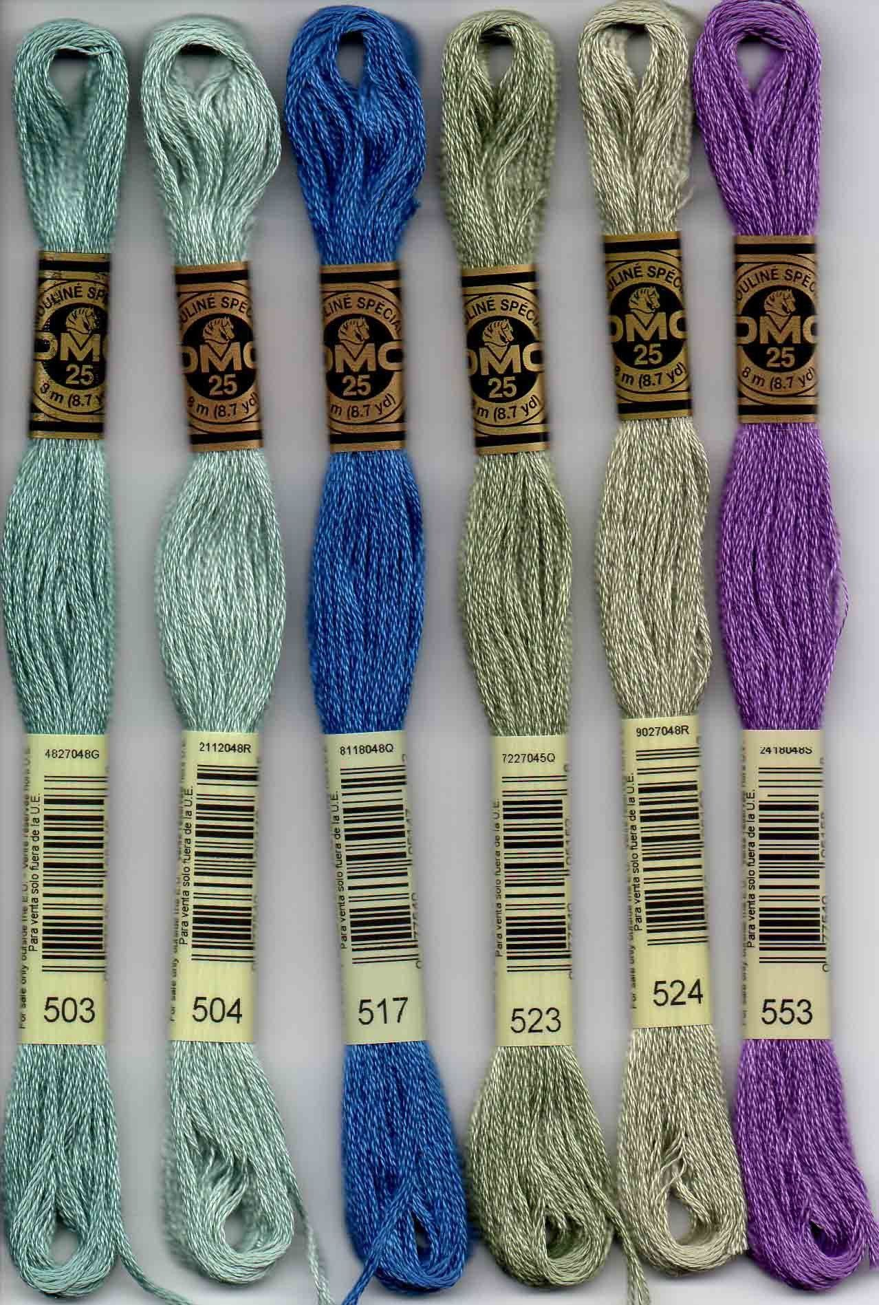 Sullivans Six Strand Embroidery Cotton 8.7 Yards-Very Dark Jade 12 per Box