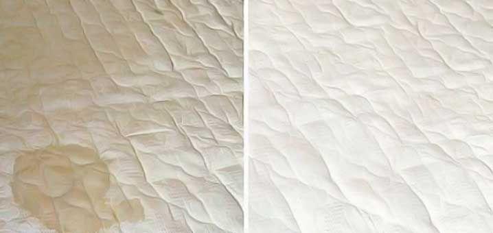 comment nettoyer son matelas facilement. enlever les taches d