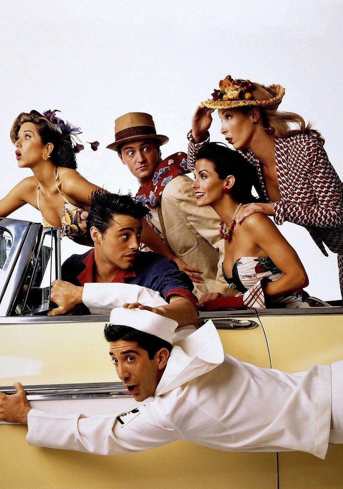 FRIENDS TV Show POSTER Series Cast Art Seinfeld Matt LeBlanc