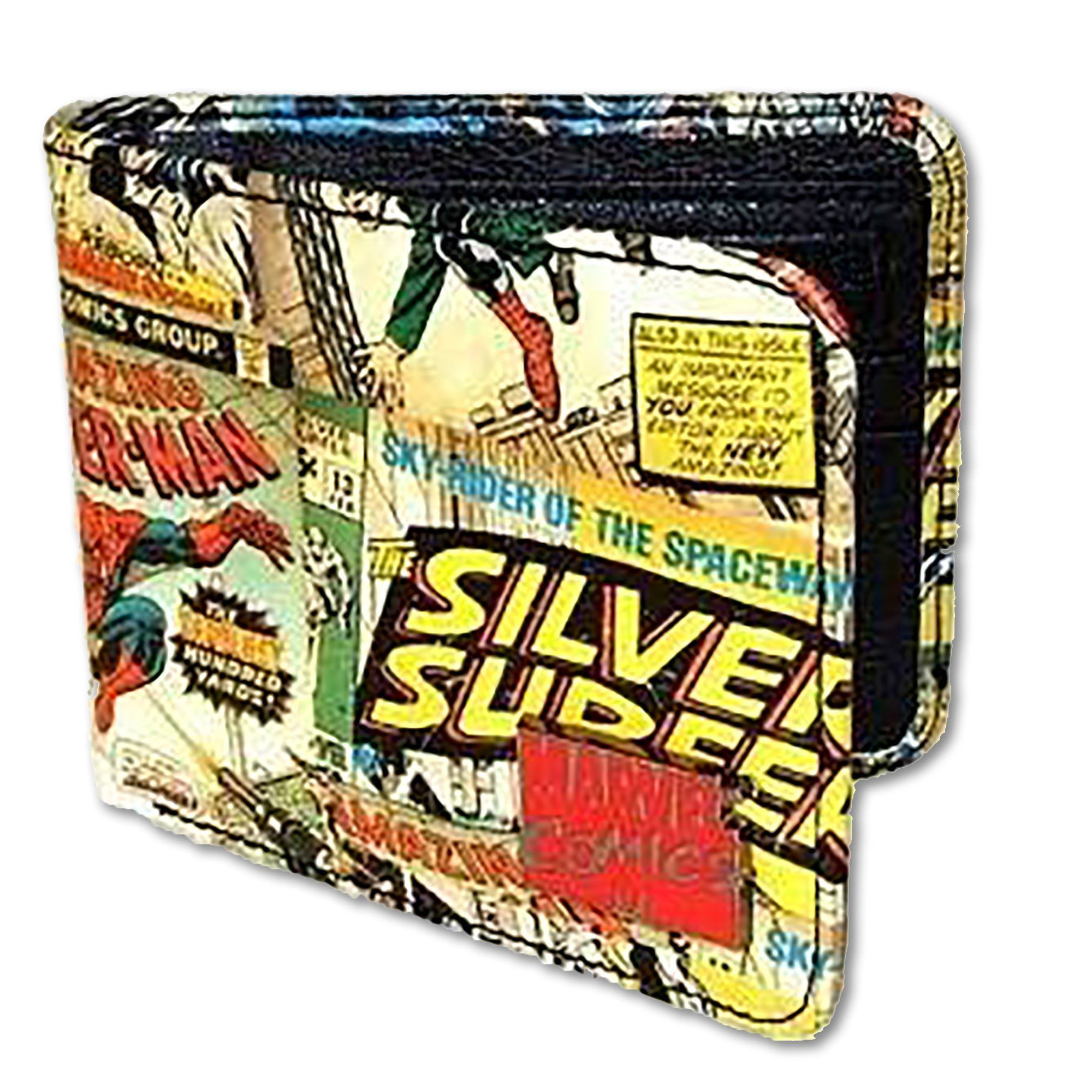 Marvel Comic Retro Wallet Comic Book Printing Marvel Comics