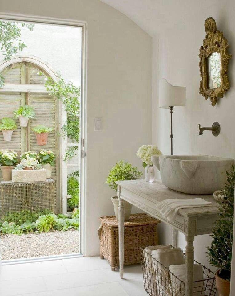 Ba o en casa de campo el ba o bathroom space ba os for Muebles para casa de campo