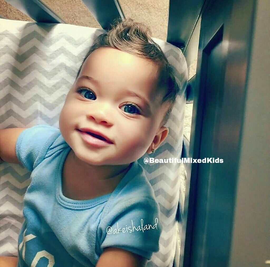 Greyson - 7 Months • African American & Caucasian ...