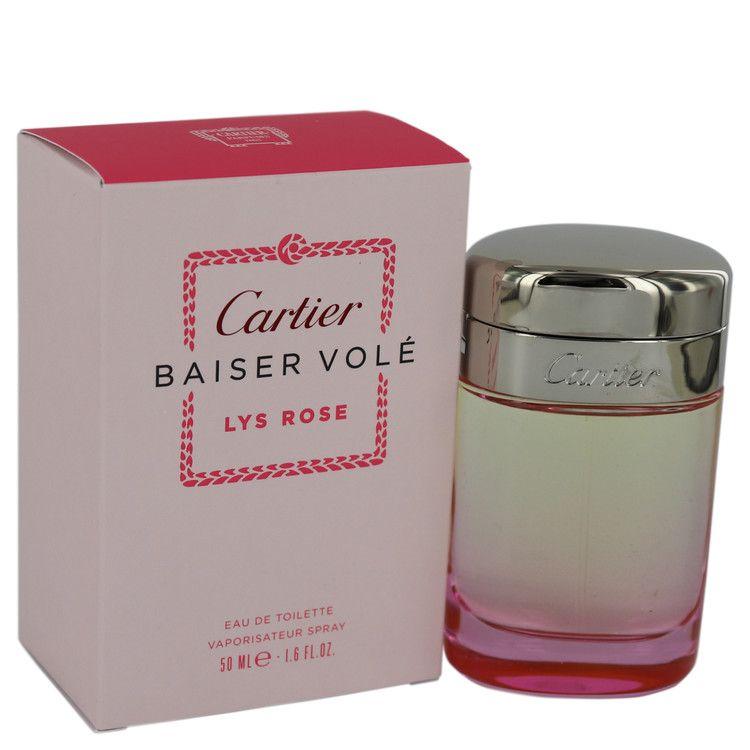 ada172f357f Baiser Vole Lys Rose by Cartier 1.6 oz