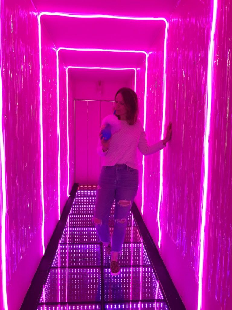 The Magical Dessert Bar Houston Is Such A Fun Place With All Their Unicorn Desserts I Love Their Neon Lit Walls Houston Bars Nightclub Design Montrose Houston