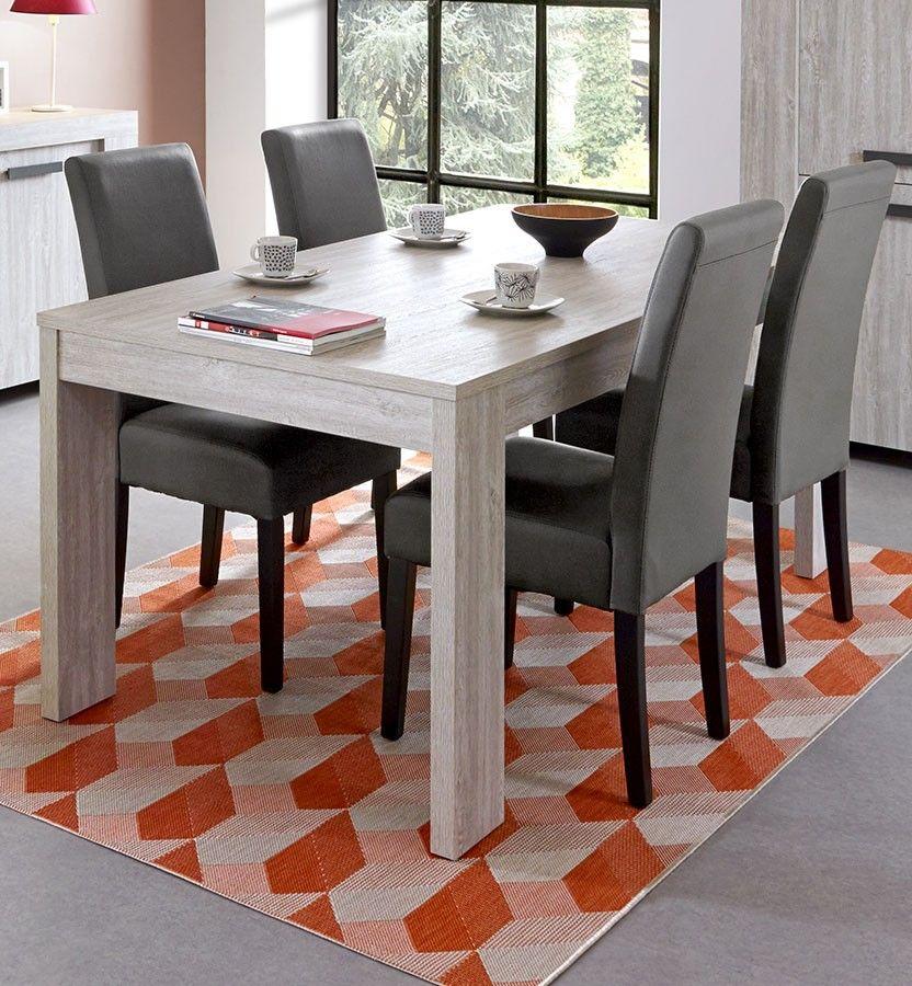 Salle à manger complète couleur chêne gris GAND 2   Salon design ou ... 0e3957c5cfec