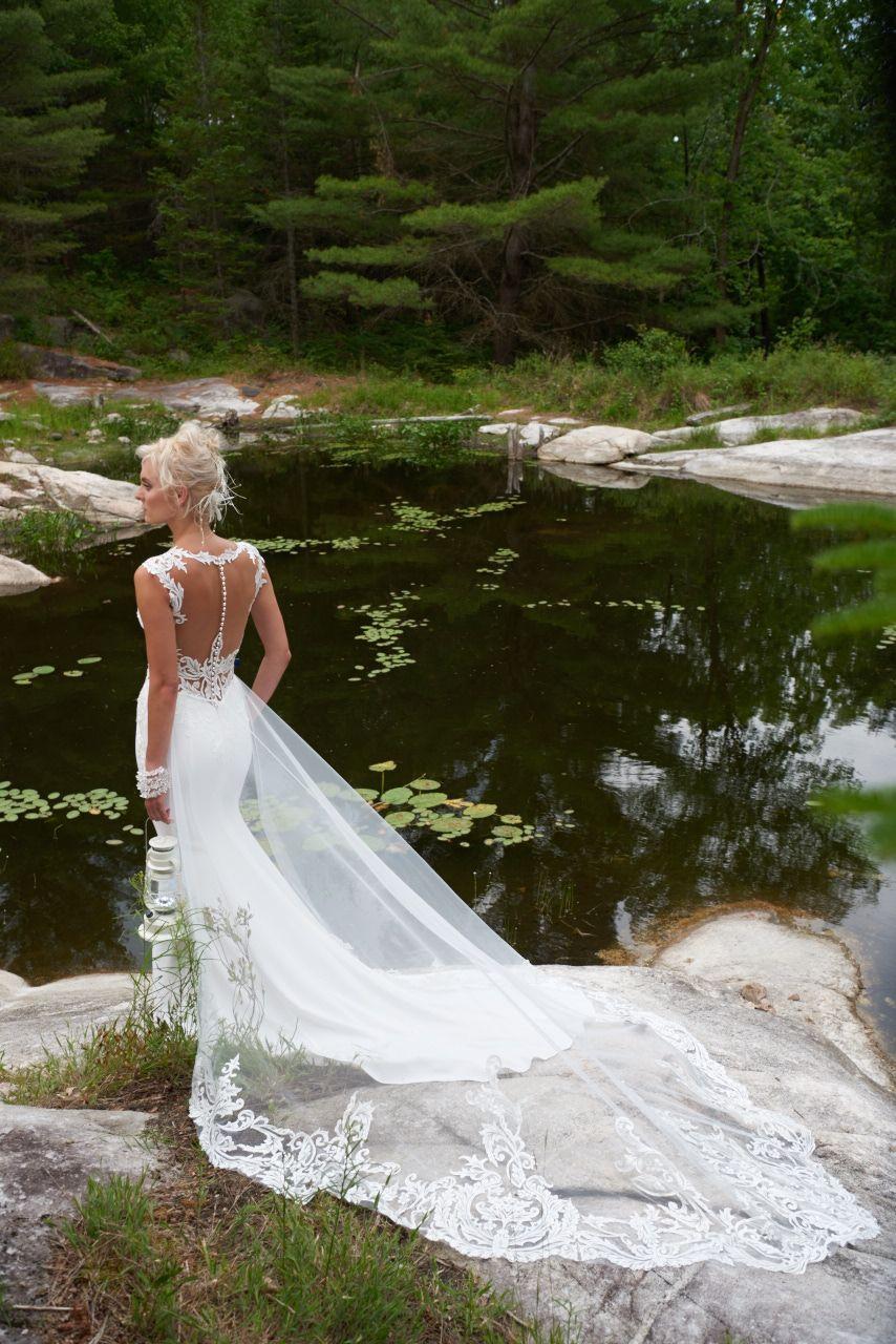 Hatton cross bridal gown by Dando London. Gorgeous soft silhouette ...