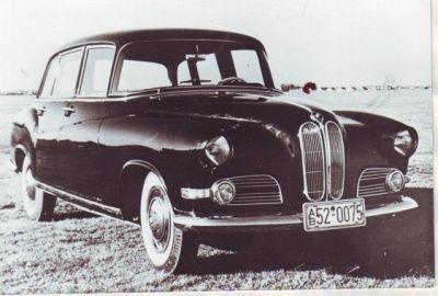 BMW 505 Pullman-Limousine Prototype par Ghia, 1955