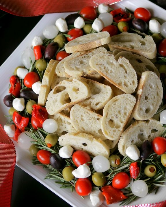 Festive Christmas Appetizers and Sides Antipasto, Menu planning