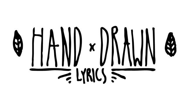 Create Hand Drawn Worship Lyrics How To Draw Hands Worship