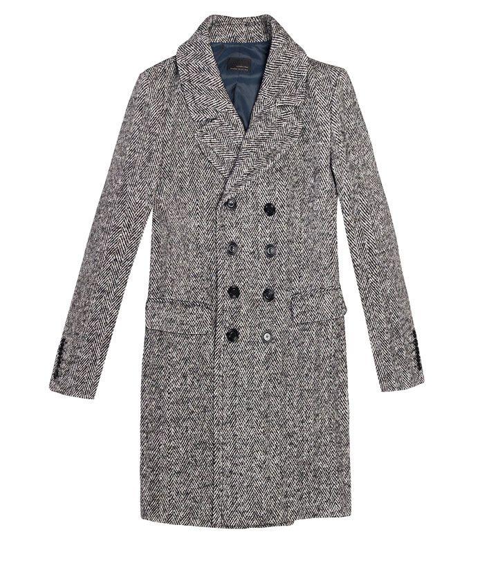 Zara men's coat | For Geff Yabes | Pinterest | Herringbone coat ...