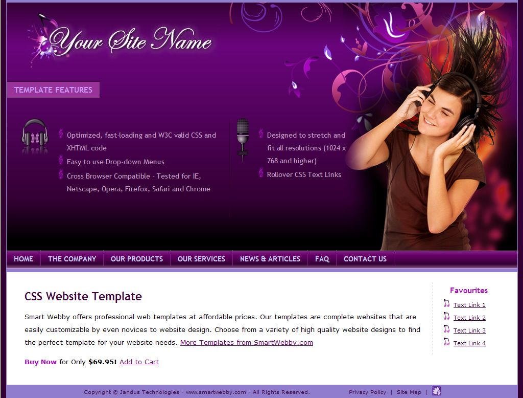 Free Dreamweaver Website Templates Hot Girls Wallpaper Photo