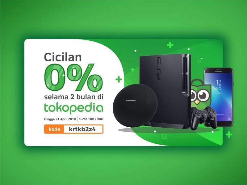 Tokopedia Banner Promo Banner Creative Advertising Banner Design