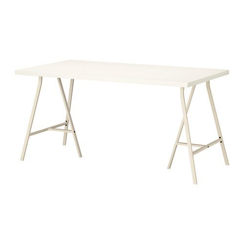 LINNMON LERBERG Table blackbrown gray Bureau ikea Desks