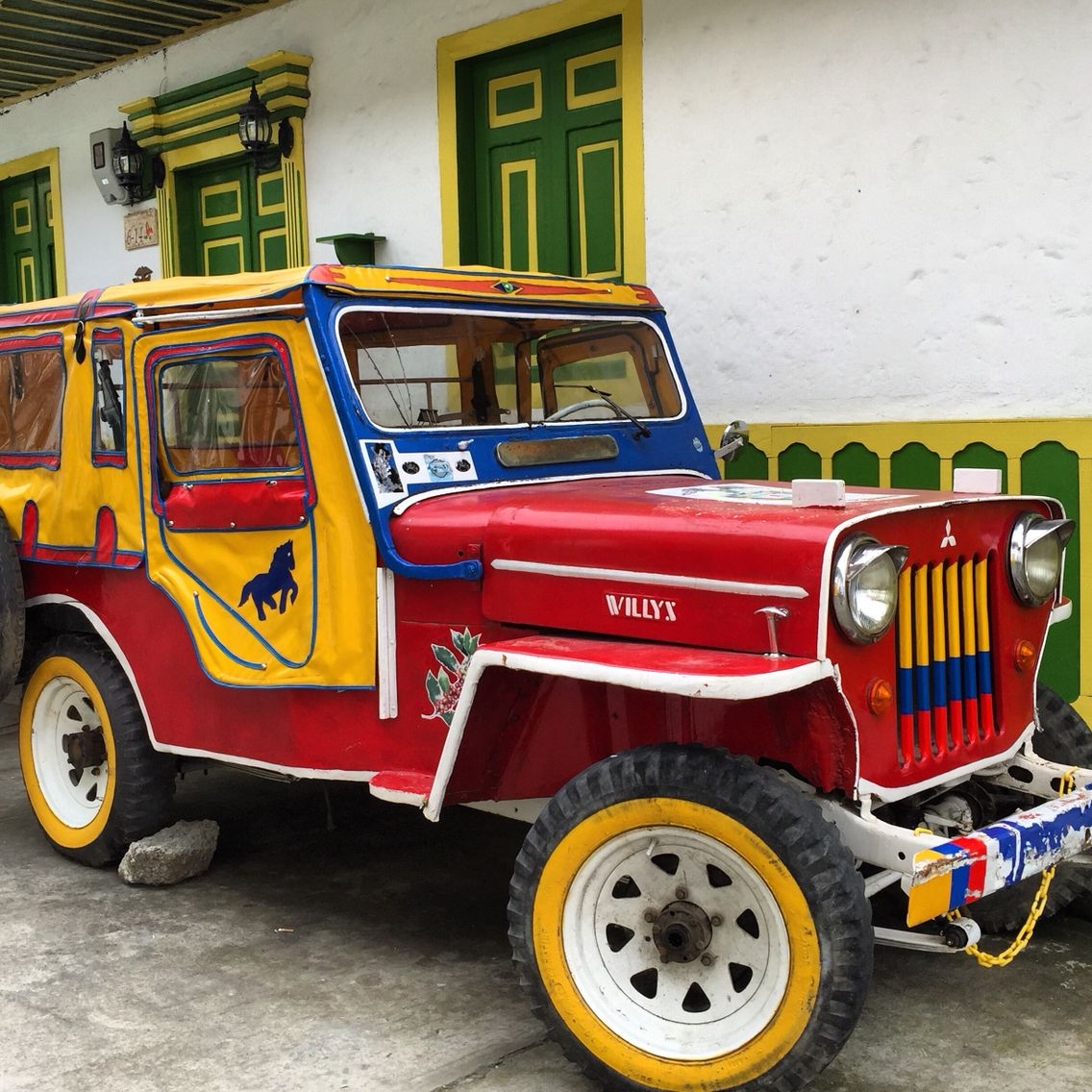 Willys., Salento, Colombia | cool cars | Colombia