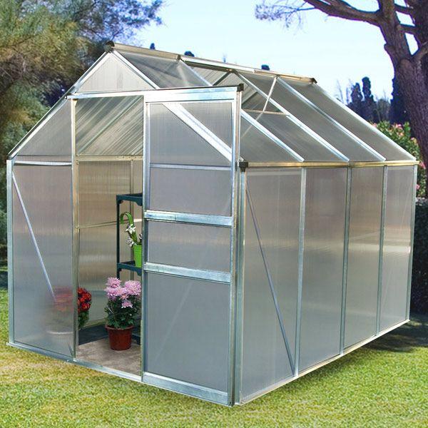 Serre De Jardin Polycarbonate 4 8m Serre De Jardin Polycarbonate Serre Jardin Jardins